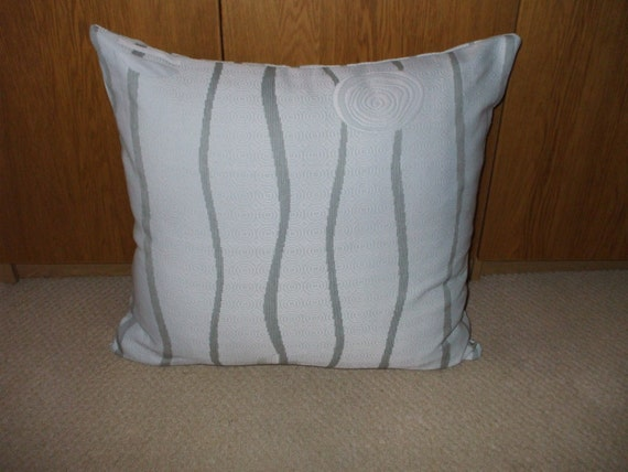 How To Make Extra Large Floor Pillows : Silver grey extra large or floor cushion cover. by LongforDesign