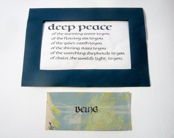 Deep Peace Print, and Being an Original