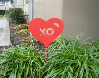 XO - Hug&Kiss Garden Stake