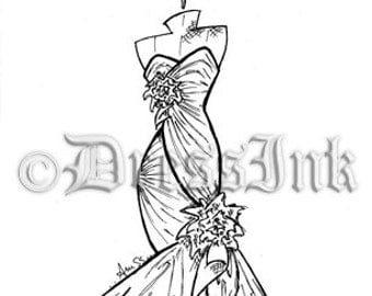 the gallery for gt black and white fashion sketches men