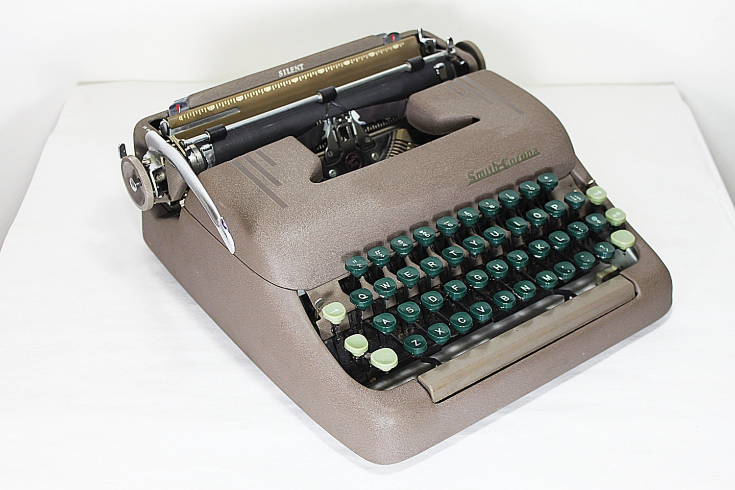 how to clean a smith corona sterlin typewriter