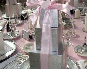 Decorative and unique wedding and party centerpieces.