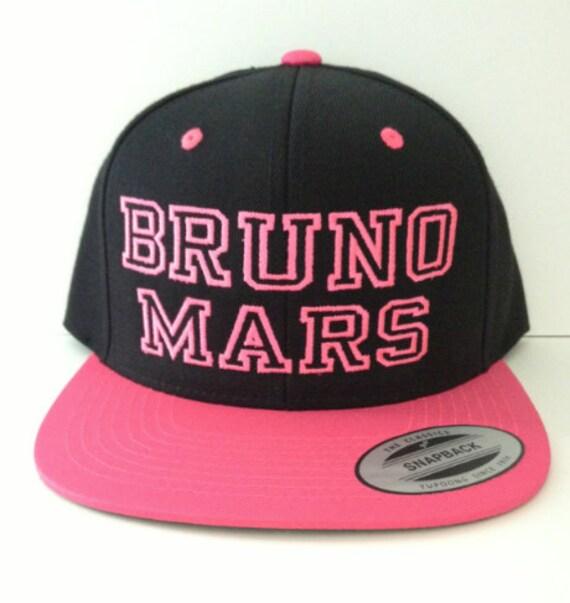Bruno Mars Snapback Hat