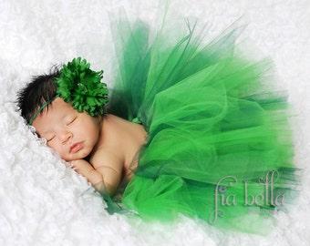 TUTU SKIRT...St. Patrick's Day Tutu Skirt...Newborn Tutu...Baby Tutu...Toddler Tutu...Cakesmash Tutu...Birthday Tutu...Summer Dress