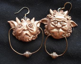 Labyrinth Knocker Earrings