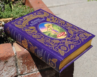 Hollow Book Safe - Classic Fairy Tales - Leather Bound
