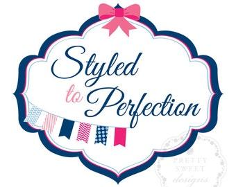 Banner Logo Design, Logo Design For Your Business, Shop Or Blog, Cute Designs And Illustrations