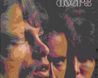 "The Doors ""Light My Fire"" Vintage Music Sheet"