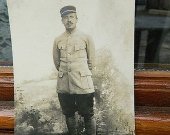 """1900-1910 French Postcard """"Military"""""""