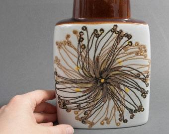 Royal Copenhagen vase ellen malmer 631/3121 mid century fajance pillow pottery flower retro vintage scandinavian