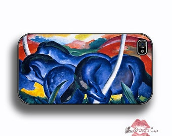Franz Marc - Blue Horses Painting - iPhone 4/4S 5/5S/5C/6/6+ and now iPhone 7 cases!! And Samsung Galaxy S3/S4/S5/S6/S7