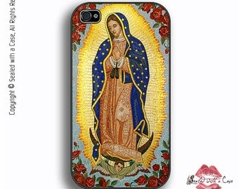 Virgin Guadalupe - iPhone 4/4S 5/5S/5C/6/6+ and now iPhone 7 cases!! And Samsung Galaxy S3/S4/S5/S6/S7