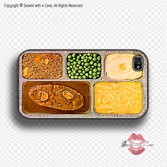 TV Dinner - iPhone 4 Case, iPhone 4s Case and iPhone 5/5S/5C and now iPhone 6 cases!! And Samsung Galaxy S3/S4/S5/S6