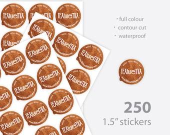 "1.5"" Custom Stickers"