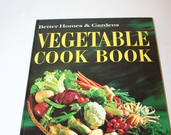 Better Homes and Gardens Vegetable Cook Book 1965