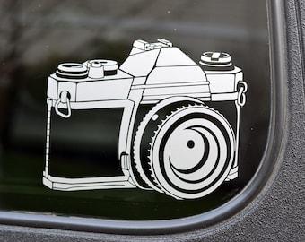 SLR Camera Decal