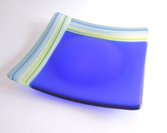 Fused glass plate / table Centre