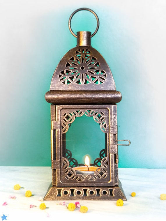 Free Shipping Worldwide, Wedding Centerpieces - Unique Exotic Lanterns - Moroccan decor -Tealight Candle Holders - Set of 4
