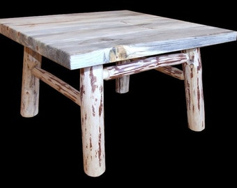 Blue Pine Coffee Table