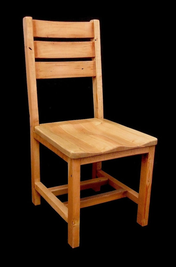Reclaimed Wood Bunkhouse Highback Dining Chair
