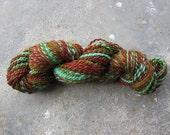 Handspun yarn--Great Outdoors BFL