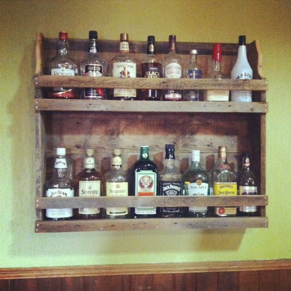 Items Similar To Natural Rustic Reclaimed Wood Liquor And