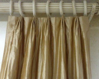Custom Drapery Panels LINED and INTERLINED made-to-order with YOUR fabric