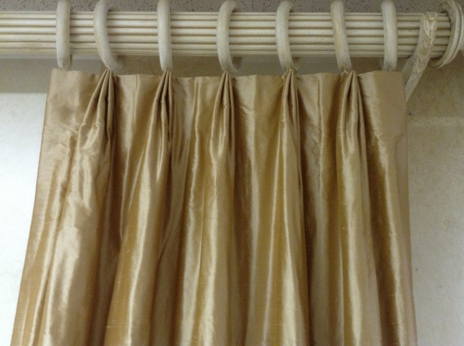 Custom Drapery Panels Lined And Interlined Made To Order With