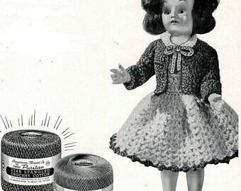 CROCHET PATTERN -- Junior Hi Doll 005