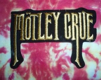 Motley Crue - Patch - Nikki Sixx - Collectible