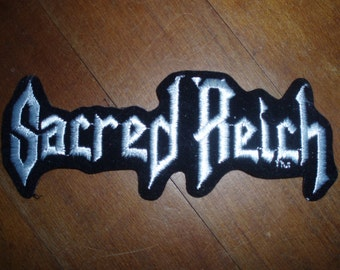 Sacred Reich - Patch - Thrash Metal - Collectible
