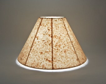 Custom Handmade Paper Round Lampshade