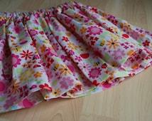 Riley Blake Ladybug Pink Twirly Skirt - Size 6/12m, 12/18m, 2T, 3T, 4, 5, 6, 7, 8