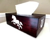 Horse tissue cover box