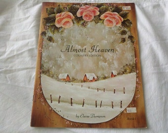 1983 Almost Heaven Country Edition Paint instruction by Elain Thompson