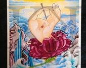 Healing Hand Fine Art Print