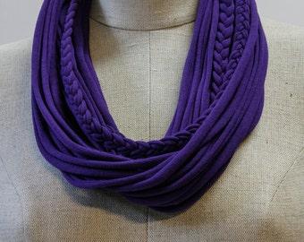Dark Purple T-Scarf