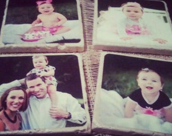 Personalized Custom Coasters - Color Photo