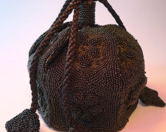 Vintage beaded purse made in France