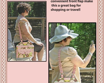 The Hip Hip Hurray Handbag Pattern - Downloadable Bag Pattern in PDF