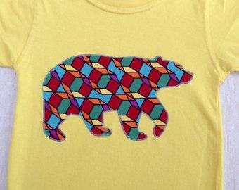 Mosaic Bear T shirt