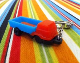 Vintage Puzzle Truck Key Chain