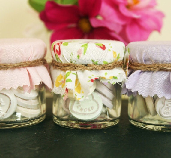 Candy Jars Sweet Jars Wedding Favours Mini Sweet Jars Love