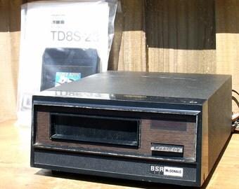BSR McDonald TD8S 8 Track Tape Player