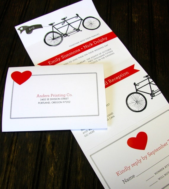 TANDEM - Seal & Send Wedding Invitation