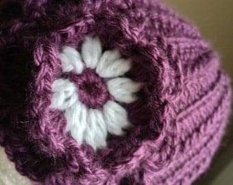 Custom Knit Hat for Girls