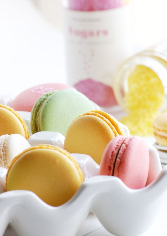 Delicious macarons are a perfect gift!