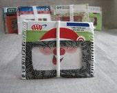 Wristlet Organizer or Mini Wallet (Bicycle Pattern)