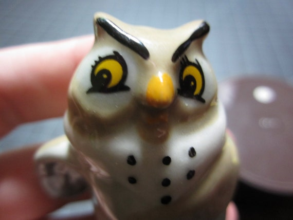 Big Mama The Owl From The Fox & The Hound Disney Wade Porcelain Whimsie Hat Box