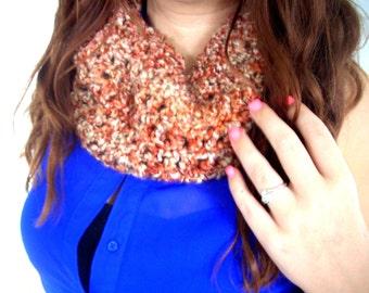 scarf cowl collar soft neck warmer crochet